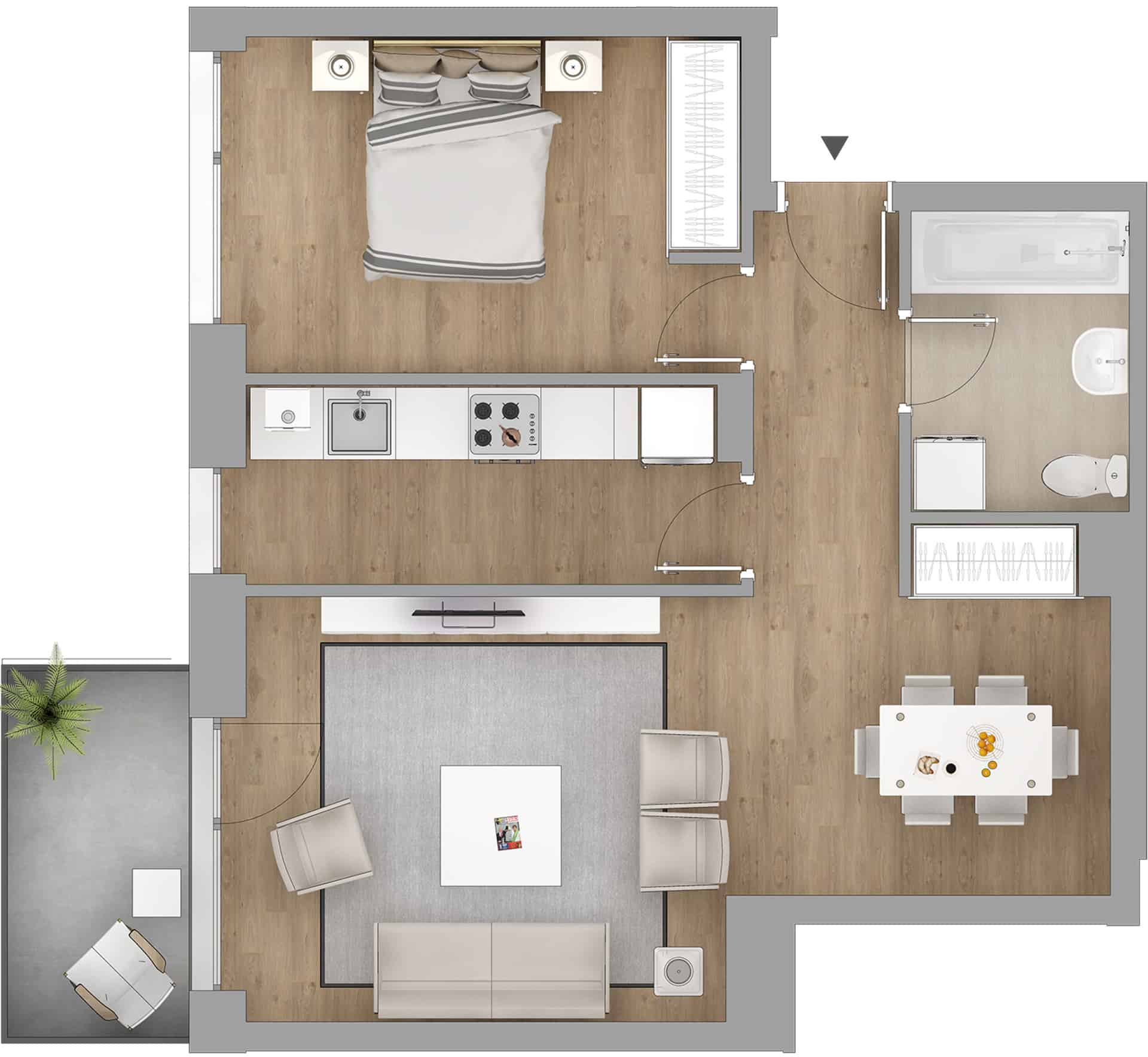 vanzare apartament 2 camere bloc nou bucuresti